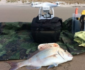 drone fishing success