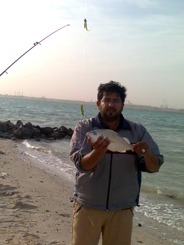 Fishing in Abu Dhabi with FRIENDS