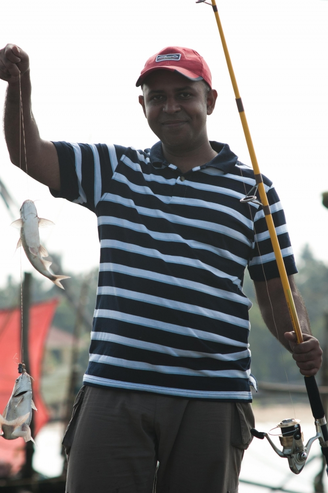 Catfish Catch at Munampam, Kerala