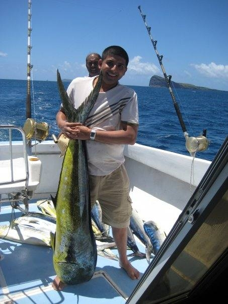 Dorad off the coast of Mauritius Island