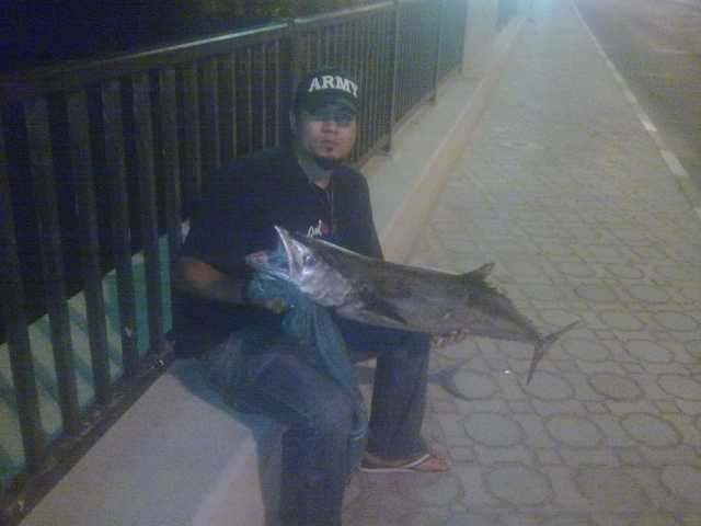 kingfish caught in dubai