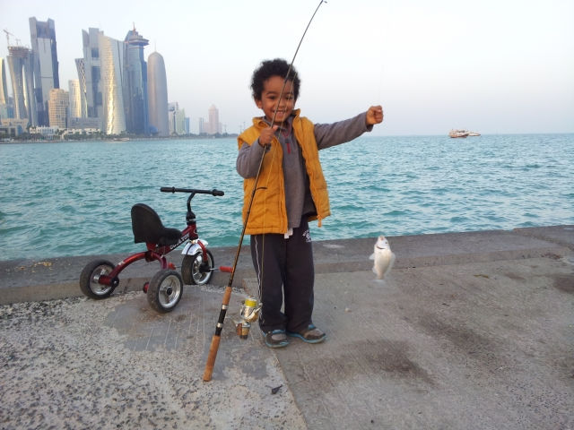 Career's first fish