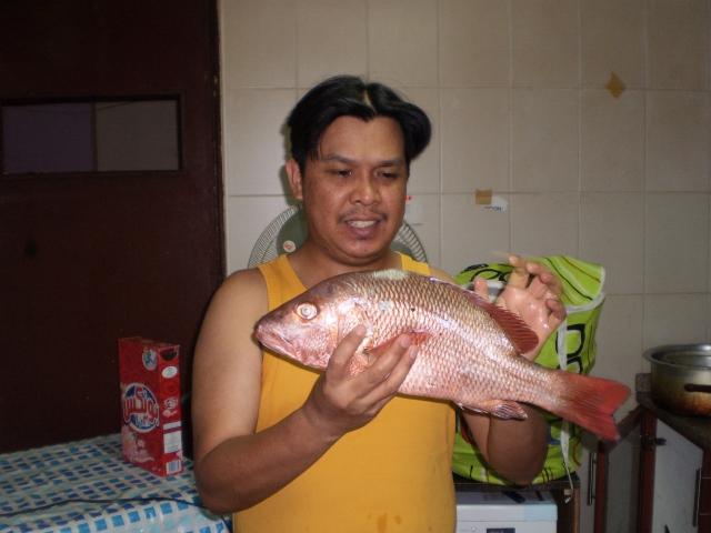 Marina Mall Breakwater Fishing 22Aug2014