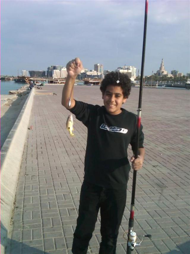 AH's 2nd. catch