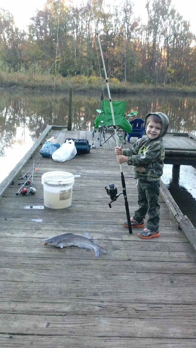 4 lb blue catfish