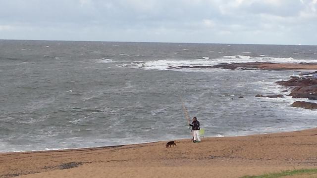 Fishing in Punta del este