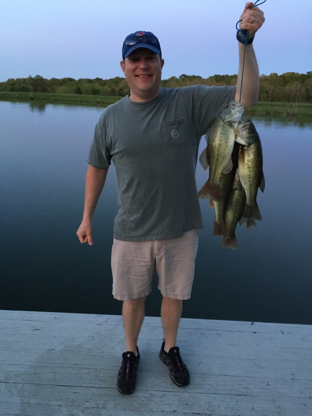 Bass are biting