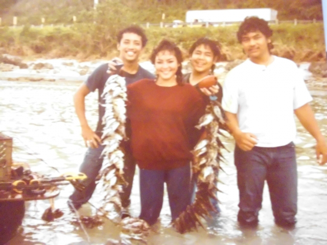 Back in the day fishing in Asan, Guam.