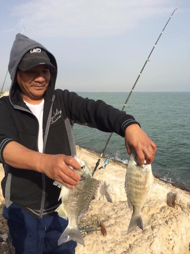 catch in dammam corniche 23-02-19