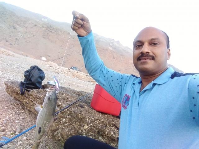 Weekend fishing at Tiwi ,Muscat