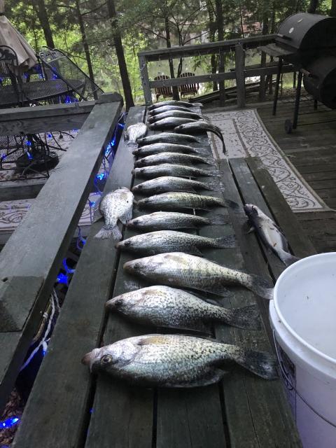 Lake Bob Sandlin April 27 19