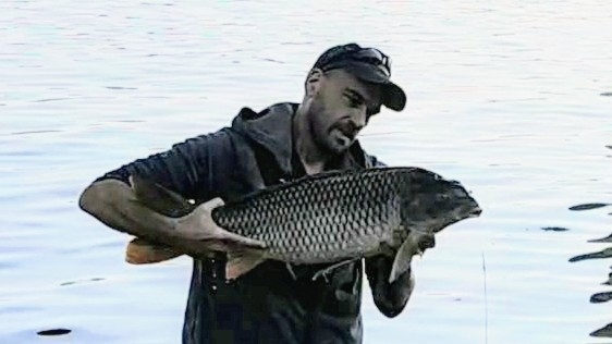 Another carp out of the Han River in Seoul