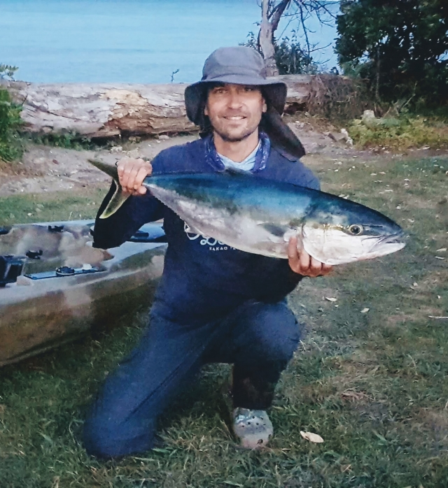 Kingfish caught in Golden Bay, New Zealand