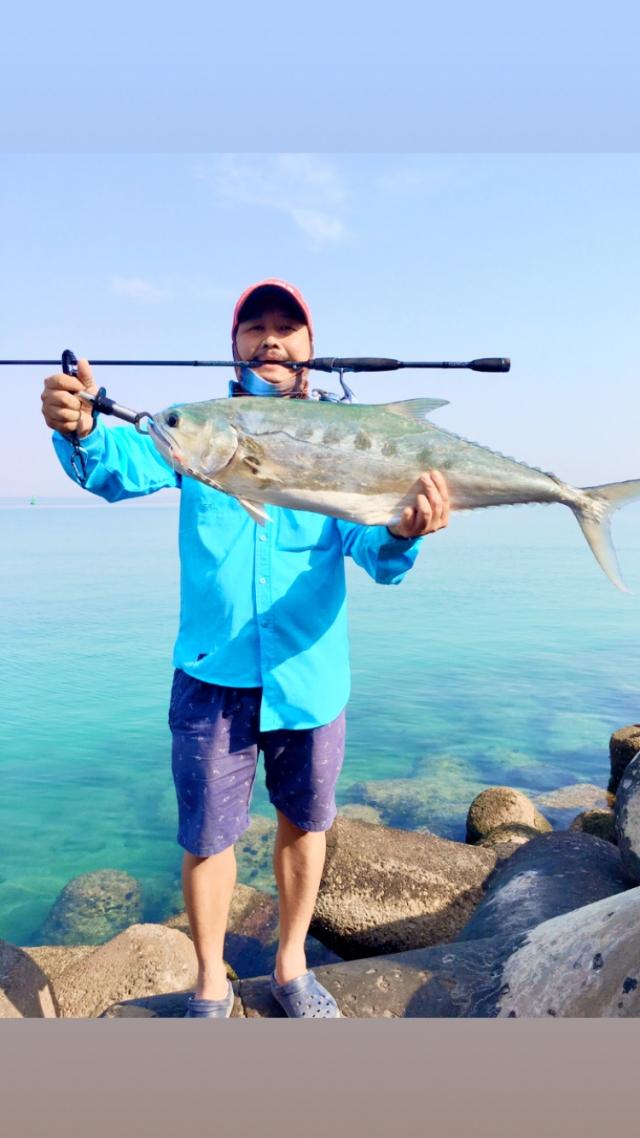 Abu Dhabi fishing #queenfish