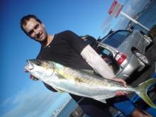 Kingfish from Kayak