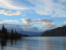 New Zealand fishing scenery