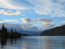 New Zealand fishing scenery