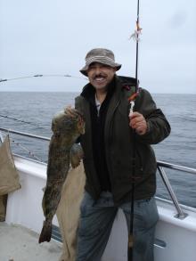 10 lbs Lingcod, Halfmoon Bay, CA 2010