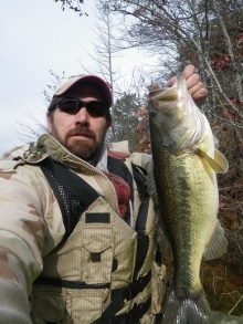Alabama Winter Kayak Bass
