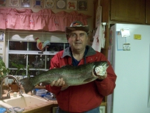 7  lb 10 oz  Rainbow   in Casitas