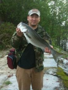 First Striper of 2011
