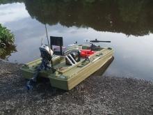 My basshunter 8ft. mini pontoon, awesome boat!