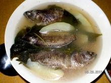 fresh water fish (Puyo) in Philippines