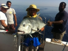 GT Popping in Red Sea Egypt