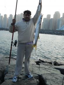Barrcuda caght from dubai