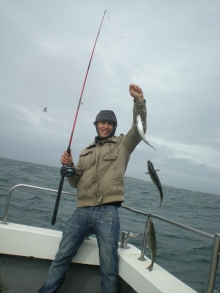Fishing in irish sea...