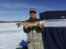 My Dad with Northern Pike