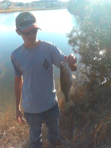 Oldest son with bass
