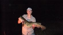 25 pound flathead catfish