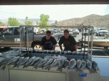 2 skilled fishermen lkmead 7/21/12