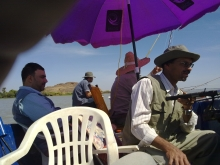 Fishing on the White Nile - Sudan