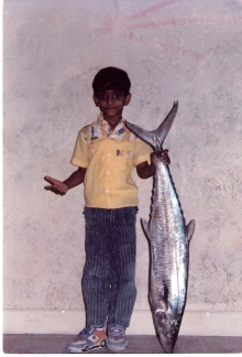 My first King Fish