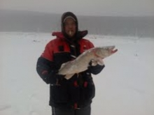 icefishing east branch lake wilcox p.a.