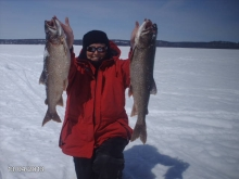 Northern ontario , lake trout
