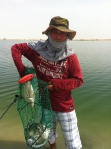 Friday Fishing @ Al Aryam abu dhabi - 48 pcs of Fish.