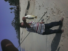 Salleh and his catch...nice catch
