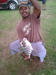 Fishing in Chaguaramas
