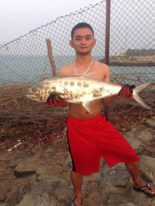 my biggest catch...