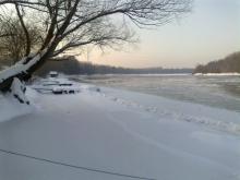 Zima na Dravi