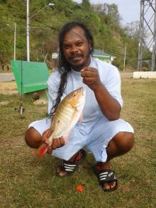 My Biggest Lane Snapper aka Red Fish