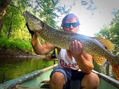 Top water pike