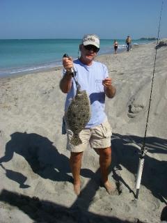 Fl. beach flounder