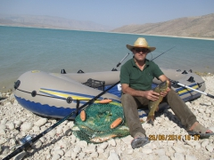 karp fishing - sad - e - dariush