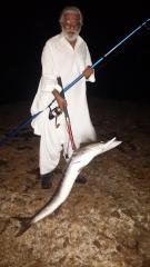 12kg Barracuda Catch French Beach,  Karachi,  Pakistan