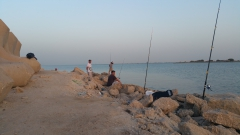 jubail port fishing time