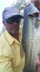 Nice Bass caught in Kearney Nebraska